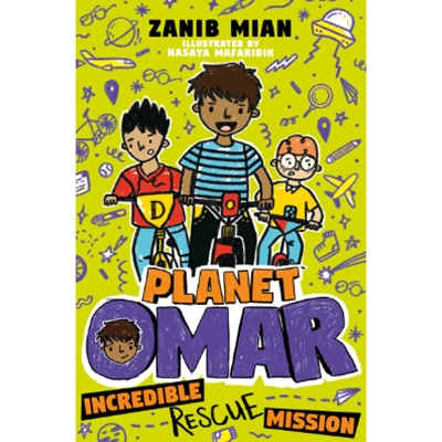 Planet Omar: Incredible Rescue Mission: Book 3