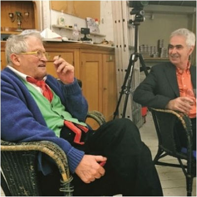 David Hockney and Martin Gayford