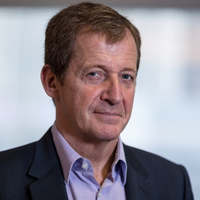 Alastair Campbell and Ruby Wax talk to Francine Stock