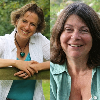 Gill Lewis and Julia Green