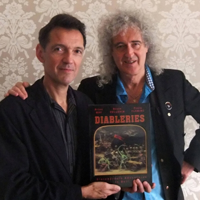 Brian May and Denis Pellerin
