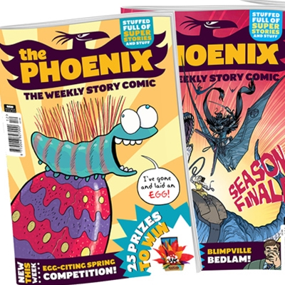 Phoenix Comics Workshop 5