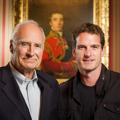 Dan and Peter Snow