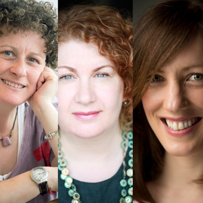 Liz Kessler, Lisa Williamson and Keren David