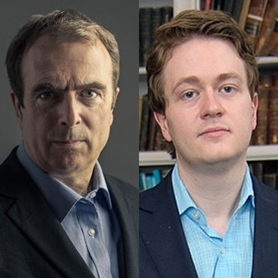Peter Hitchens and Johann Hari
