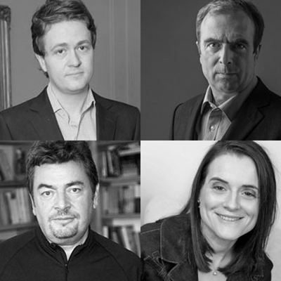 Bronwen Maddox, Peter Hitchens, David Aaronovitch, Johann Hari