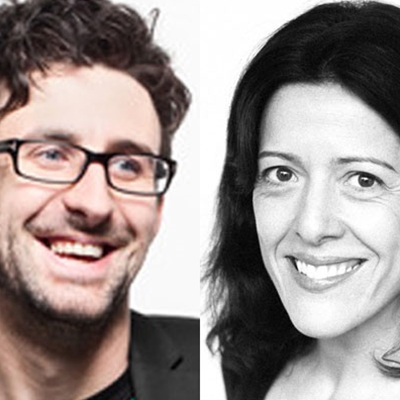 Shireen Jilla and Mark Watson talk to Georgina Godwin
