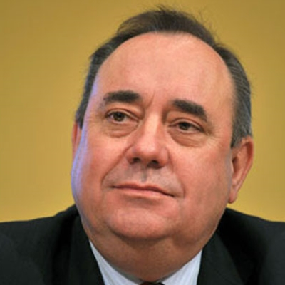 Alex Salmond talks to Helena Kennedy
