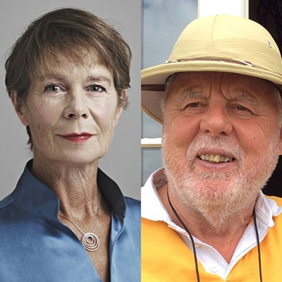 Celia Imrie and Terry Waite talk to Georgina Godwin