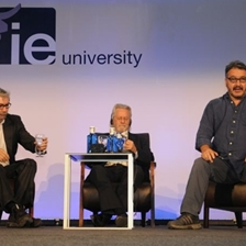 AC Grayling, Antonio Muñoz Molina and Peter Florence