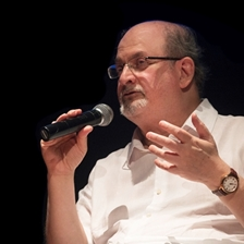 Carmen Boullosa, Valeria Luiselli and Salman Rushdie in conversation with Margarita Valencia
