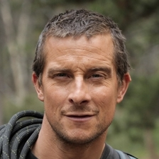 bear grylls talks to dylan jones hay festival