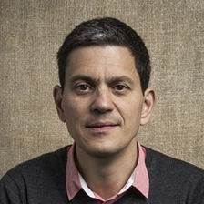 David Miliband talks to Jim Naughtie