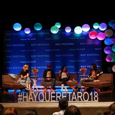Us too: on the #MeToo campaign. Wenceslao Bruciaga, Lydia Cacho and María Hesse in conversation with Gabriela Jauregui