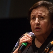 Freedom of expression. Conference by Shirin Ebadi