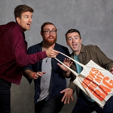 Greg James, Chris Smith and Dave Cribb