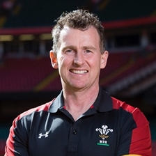 Nigel Owens, Sam Warburton and Martyn Phillips talk to Carolyn Hitt
