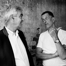 Antony Gormley and Martin Gayford