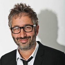 David Baddiel in conversation with Konnie Huq