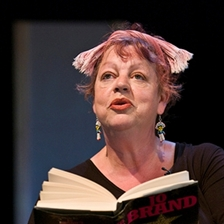Jo Brand talks to Peter Florence