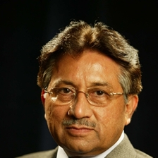 Pervez Musharraf talks to Carey Schofield