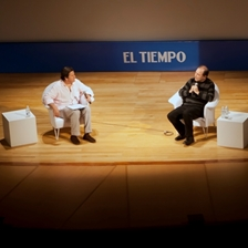 Rubén Blades in conversation with Roberto Pombo