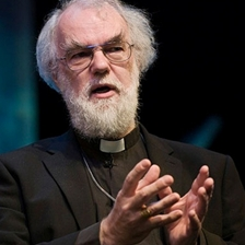 Rowan Williams and Simon Russell Beale