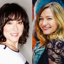 Holly Smale and Arabella Weir