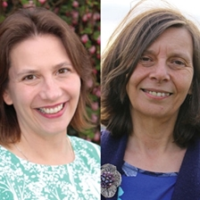 Caroline Lear and Rhoda Ballinger - 9763