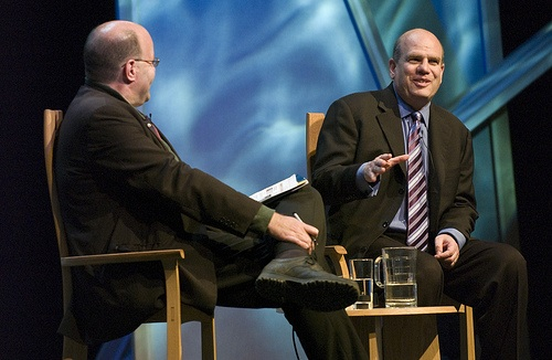David Simon talks to Mark Lawson
