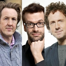 Steve Punt, Will Smith and Marcus Brigstocke