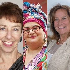 Camila Batmanghelidjh, Helena Kennedy and Sue Berelowitz talk to Jon Snow