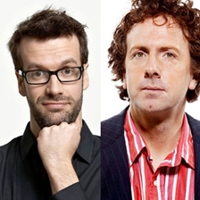 Marcus Brigstocke, Steve Punt, Carrie Quinlan and Andre Vincent