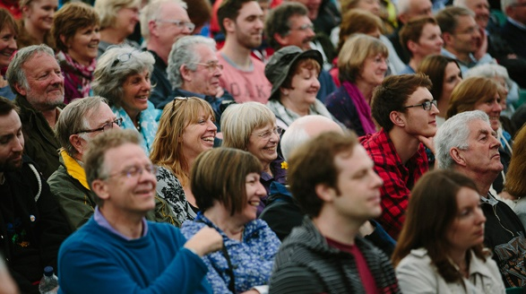 Hay Festival audience