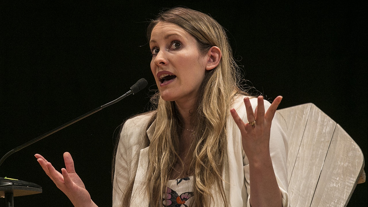 Laura Bates at Hay Festival