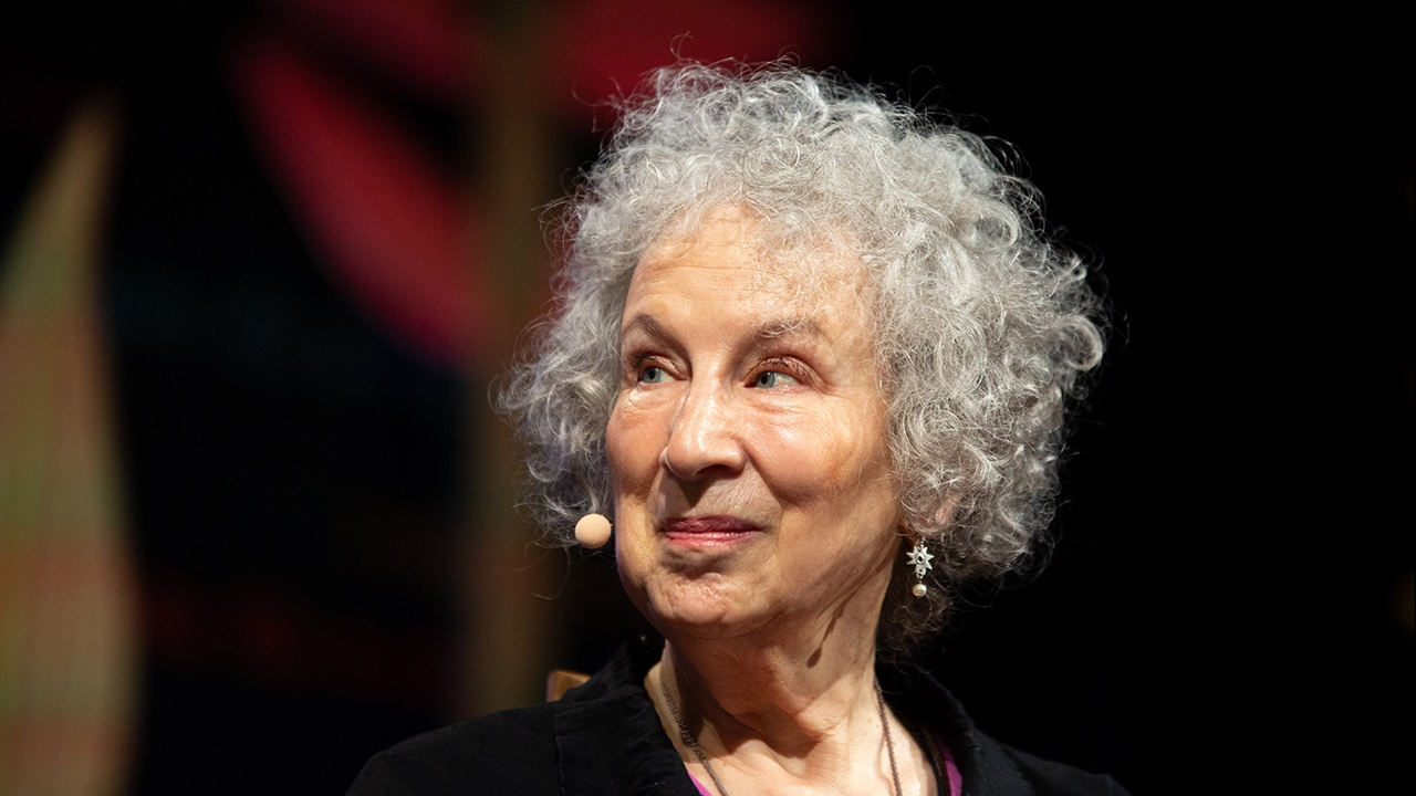 Margaret Atwood at Hay Festival