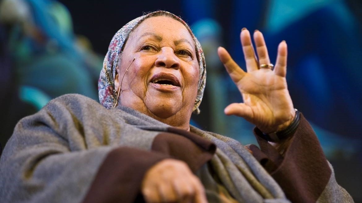 Toni Morrison talks to Hay Festival audience