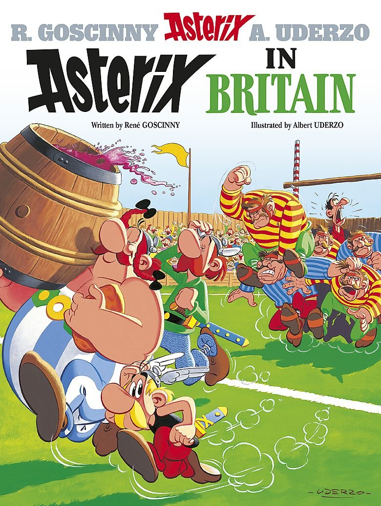 Asterix in Britain written by René Goscinny illustrated by Albert Uderzo