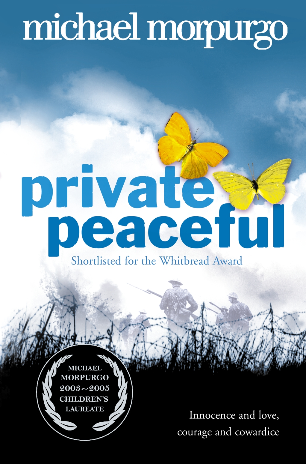 Private Peaceful by Michael Morpurgo.JPG