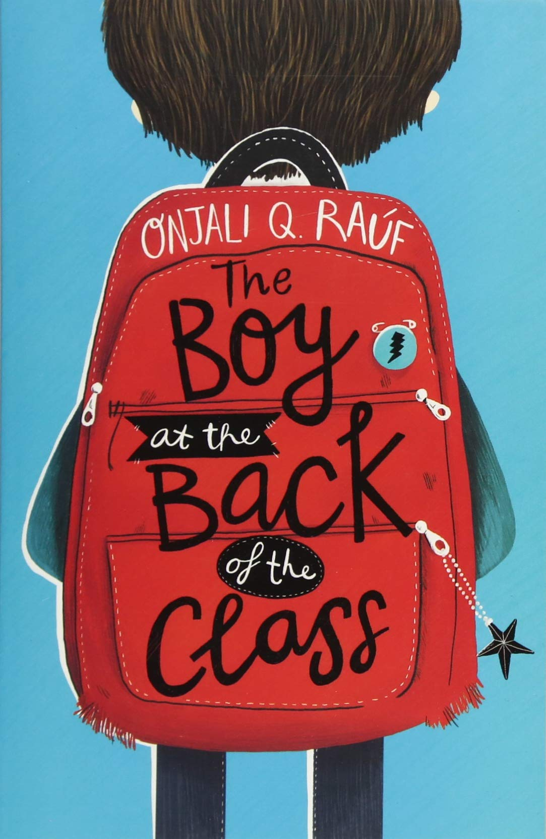 The Boy at the Back of the Class written by Onjali Q Rauf illustrated by Pippa Curnick