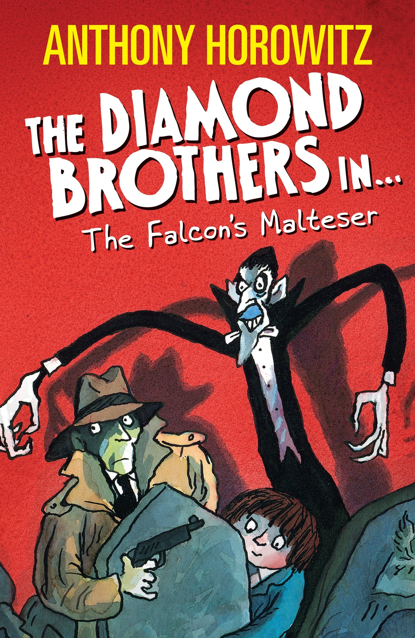 The Diamond Brothers series by Anthony Horowitz
