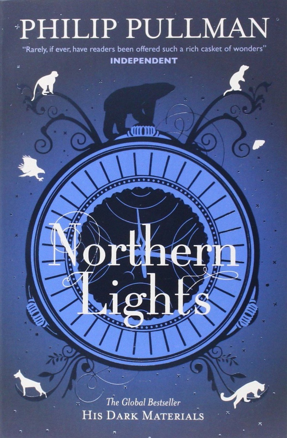 His Dark Materials series by Philip Pullman